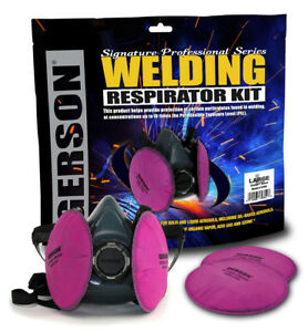 Gerson Signature Professional Series Welding Respirator Kit 9259 Made In Usa