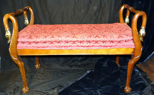 Baker Furniture 1516 Swan Neck Bench Collector S Edition