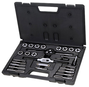 27 Piece Sae Tap And Die Set T 1142 Upc 664766384783