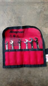 Snap On 6pc Sae Offset Ignition Wrench Set Ds806ak 15 64 3 8 15 65 Degrees