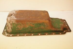Engine Motor Oil Pan For Oliver 550 Gas Or Diesel Tractor White 2 44