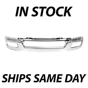 New Chrome Steel Front Bumper Face Bar Shell For 2004 2005 2006 Ford F150 F 150