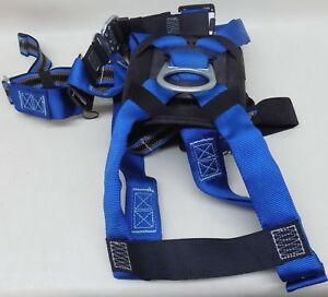 Miller By Honeywell P950dqc ubl Universal Ultra Safety Body Harness Blue Vest