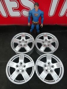17 Jeep Grand Cherokee Factory 05 10 Stock Wheels 2005 2010 Oem Rims 9053 Set