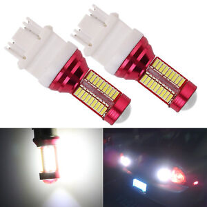 A1 2x T25 3157 Bright White Led 78 Smd With Projector Turn Signal Plugnplay