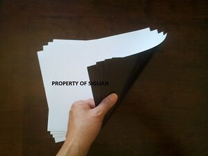 Photocopy And Laser Printable Paper Magnet Letter Size 50 Sheets