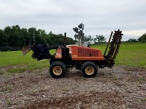 Ditch Witch 410sx 4x4 Walk Behind Trencher Plow Bore Unit Caterpillar Diesel