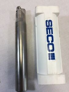 Seco Milling Cutter 1 0 Indexable Insert Tool Holder R217 21 01 00 0lp06 3a