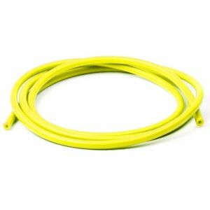 10 Feet 1 4 6mm Silicone Vacuum Hose Turbo Intake Air Hose Pipe Yellow 0 25