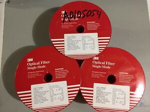 3 Spools 980nm 3m Polarization Maintaining Pm Fiber 2165 Meters Part Cs 98 3103