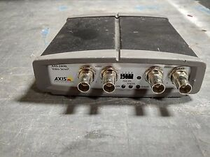 Axis 240q 4 channel Video Server Cctv Ip Network Encoder Free Shipping