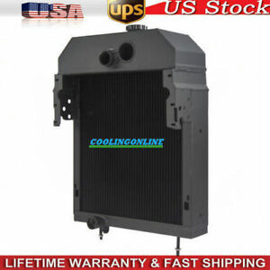 361704r93 5row Aluminum Tractor Radiator Fit Case international farmall 300