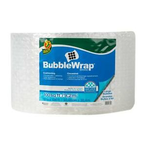 Duck Brand Large Bubble Wrap Roll 5 16 Large Bubble Cushioning 12 X 100