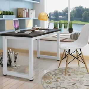 Wood Computer Desk Pc Laptop Study Table Workstation Home Office Furniture 43