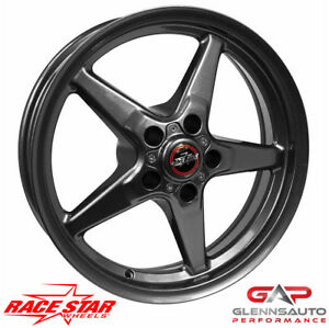 Race Star 17x9 5 92 795153g 2005 2015 Mustang 92 Bracket Racer Gray