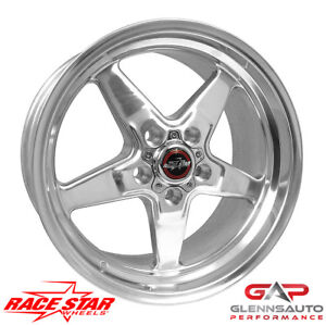 Race Star 17x9 5 92 795153dp 2005 2015 Mustang 5 Lug 92 Drag Star Polished