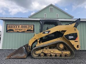 2012 Caterpillar 289c2 Track Skid Loader Skidloader 2 Speed Cheap Shipping