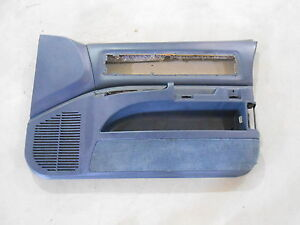 92 93 94 95 96 1994 1995 1996 Impala Ss Caprice Blue Passenger Side Door Panel