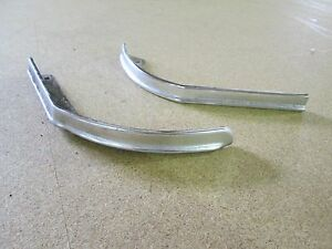 Caprice Impala Header Panel Chrome Molding Trim Donk 1975 1974 1973 1971 1976