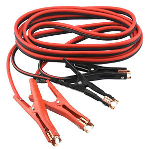 Booster Cable 20 Ft 4 Gauge Car Battery Jumper Heavy Duty Emergency Power