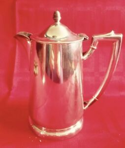 Vintage 1969 International Silver For Pan Am Airlines Coffee Pot 32oz