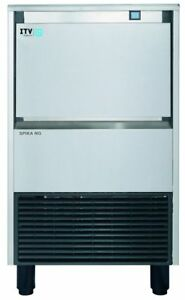 Itv Spika Ng 125lb Ice Maker Under Counter Air water Cooled W warranty