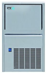 Itv Alfa Ndp 55 Lb Gourmet Ice Maker Under Counter Air water Cooled W warranty