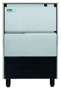 Itv Gala Ng 135 Lb Gourmet Ice Maker Under Counter Air water Cooled W warranty