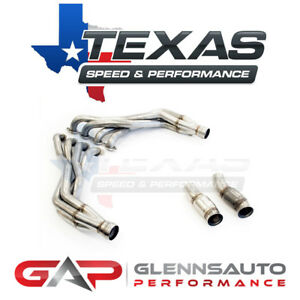 Texas Speed Tsp 2016 Camaro Ss Zl1 1 7 8 Long Tube Headers Connection Pipes