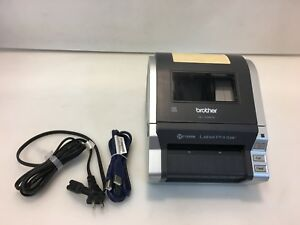 Brother Ql 1060n Network Usb Ethernet Shipping Label Printer