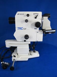 Topcon Trc 50f Retinal Camera Opthalmology And Optometry Pa 50c Made In