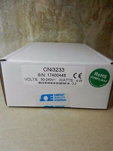 Omega Cni3233 1 32 Din Programmable Temperature Pid Controller 2 Spdt Relays