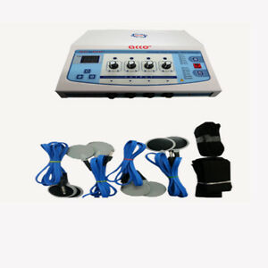Latest Electrotherapy 4 Channel Pain Relief Machine Physiotherapy Unit