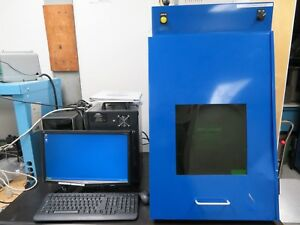 Kevron Inc Elite Mark Xx Igp Photonics Fiber Laser Marking Machine W Rotary
