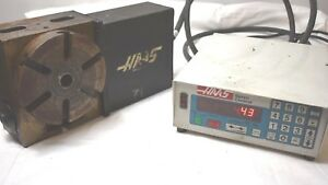 Haas 4th Axis Rotary Table Cnc Indexer W Servo Control 17 Pin