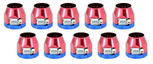 Clamps Heater Hose Fittings 3161 Red Blue For 1 2 I D Hose Qty 10 Gear Drive