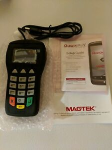 brand New Magtek Ipad Credit Card Transaction Terminal Card Swipe And Keypad