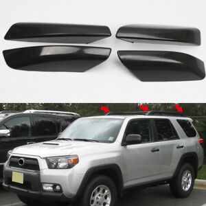 For Toyota 4runner N210 03 09 Black Roof Rack Rail End Cover Shell Replacement