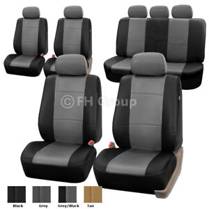 3 Row 7 Seaters Universal Seat Covers Full Interior Set For Suv Van