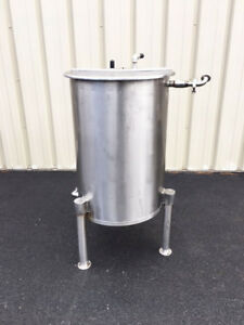 50 Gallon Stainless Steel Tank Food Grade