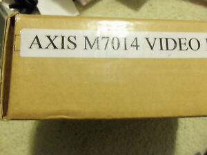 Axis M7014 4 Channel Video Encoder 0415 004 For Security Surveillance Cameras