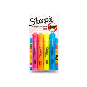 Lot Of 40 Packs Sharpie Accent Tank style Highlighters 4 Colored Highlighters