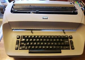Ibm Selectric I Typewriter Tan Works Vintage Original