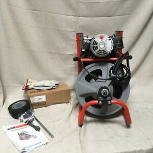 Ridgid Drain Cleaning Machine 75 Ft 1 3 Hp 27013 1 5 X 4