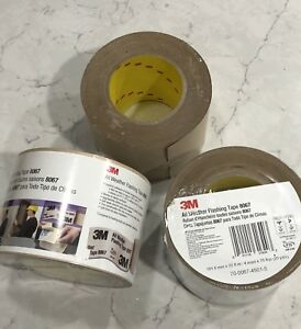 3m All Weather Flashing Tape 8067 Tan 4 X 75 Ft Slit Liner 3pc 2 New 1 Partial