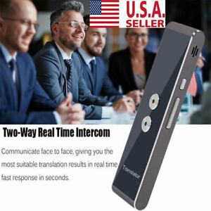 Smart Voice Translator Portable Two way Real Time Multi language Translation Usa