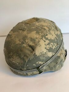 US ARMY COMBAT (ACH) HELMET MSA SIZE MEDIUM ACU COVER