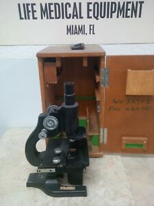 Spencer Buffalo 197488 Usa Made Microscope With Case Miami