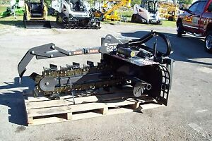 Bradco 625 Skid Steer Trencher dig 36 X 6 wide two Position fits All Brands