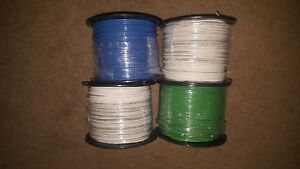 4x 500 Foot Roles 12 Awg Wire Stranded